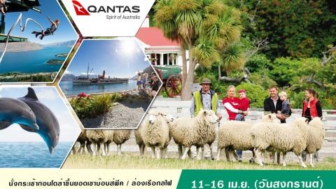 นิวซีแลนด์  Beautiful New Zealand 6 days (QF)