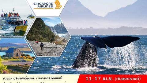 นิวซีแลนด์ Romantic South Island Tour 7 Days (SQ)