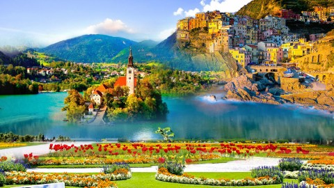 ออสเตรีย สโลวีเนีย อิตาลี 10 วัน 7 คืน (TG)