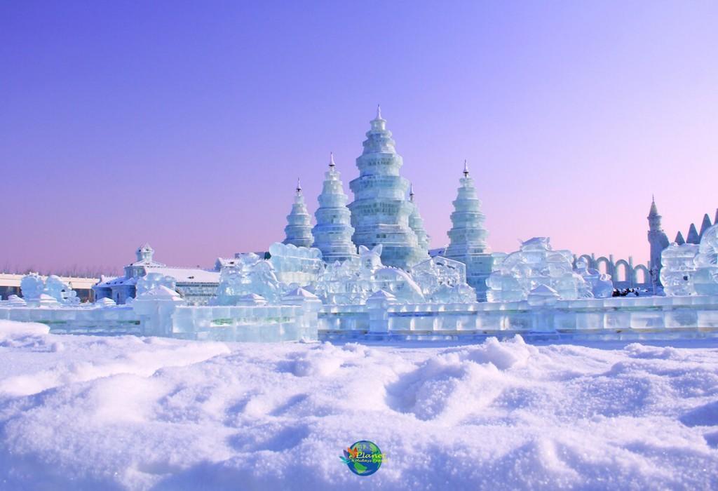 เทศกาลน้ำแข็งฮาร์บิน1
