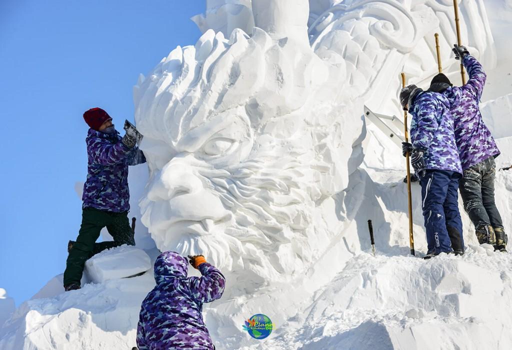 เทศกาลน้ำแข็งฮาร์บิน10