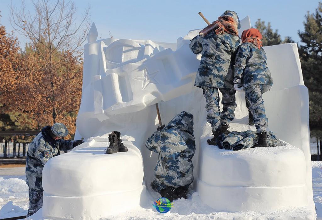 เทศกาลน้ำแข็งฮาร์บิน11