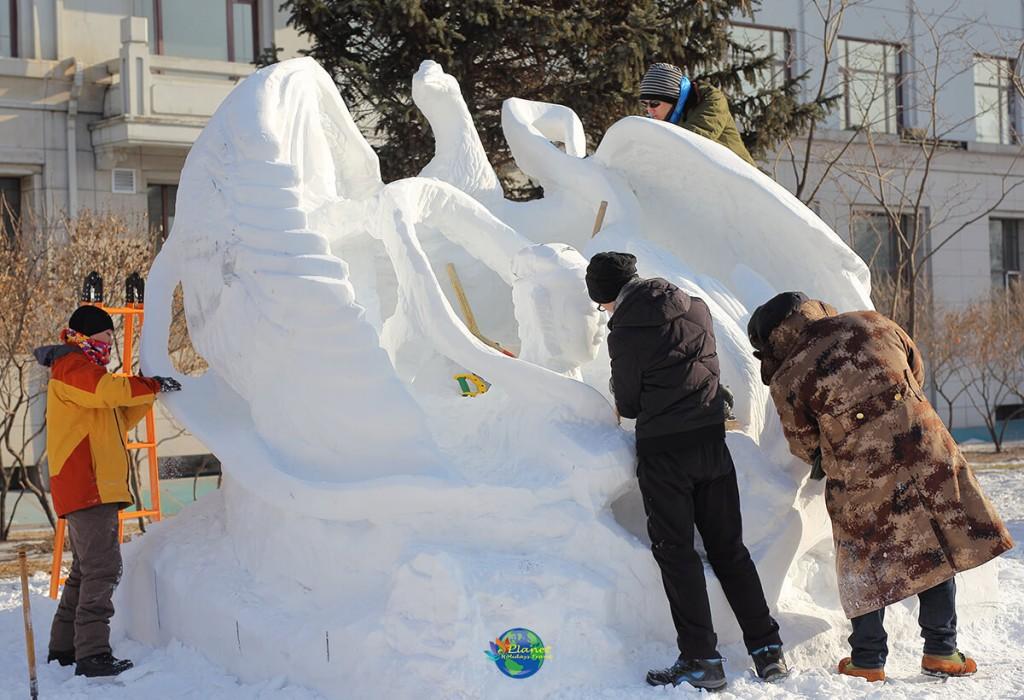 เทศกาลน้ำแข็งฮาร์บิน12