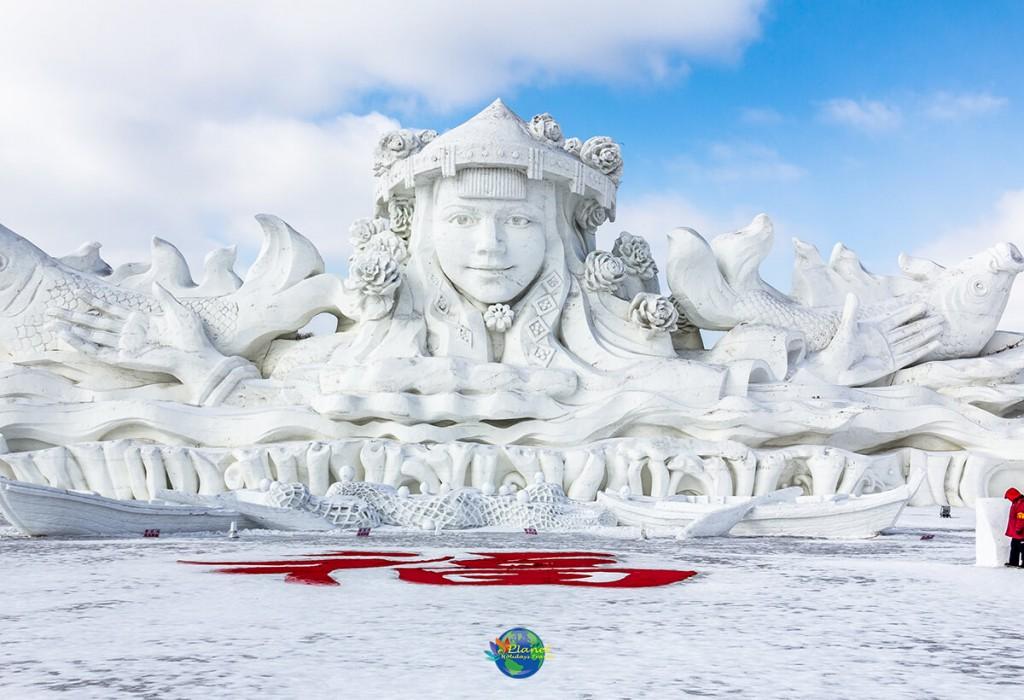 เทศกาลน้ำแข็งฮาร์บิน5