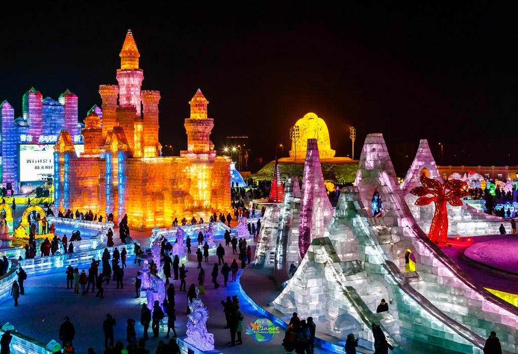 เทศกาลน้ำแข็งฮาร์บิน7