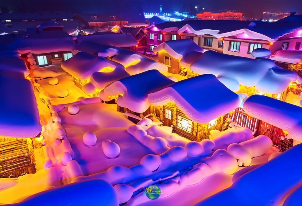 เทศกาลน้ำแข็งฮาร์บิน8