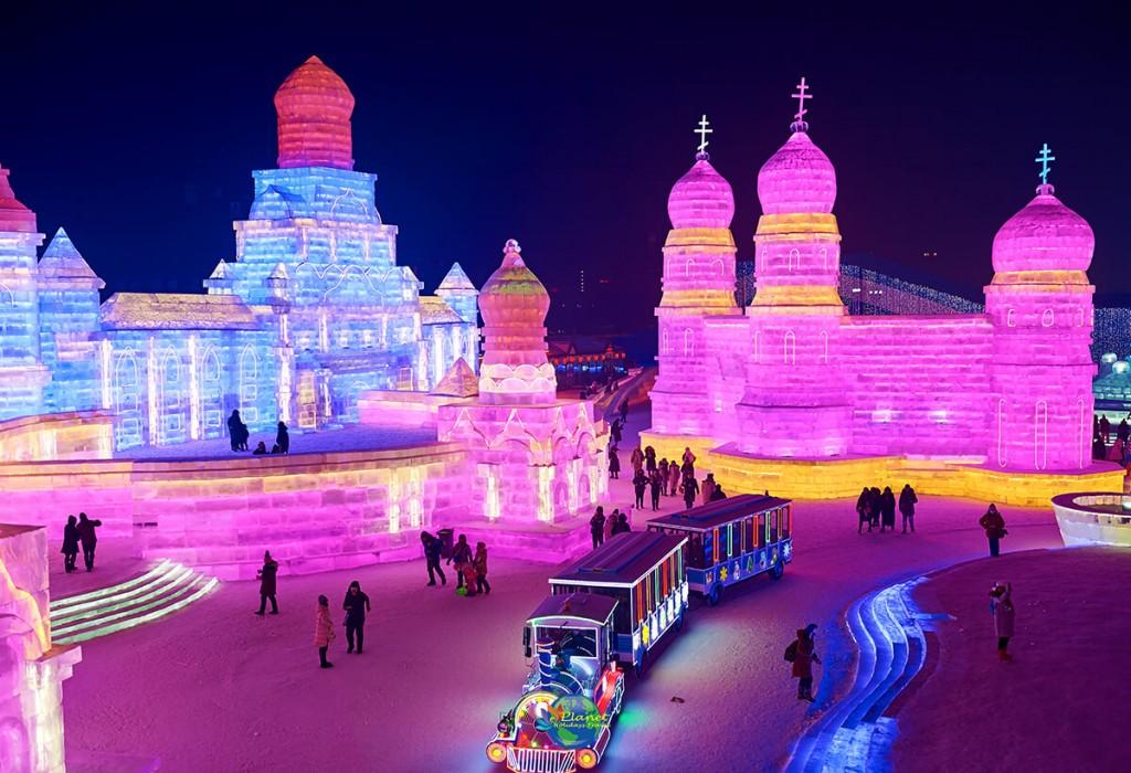 เทศกาลน้ำแข็งฮาร์บิน9