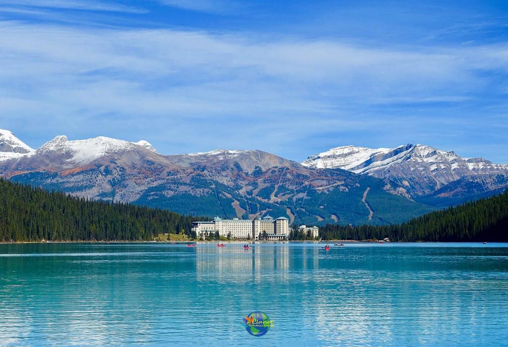 ทะเลสาบหลุยส์ (Lake Louise) 4